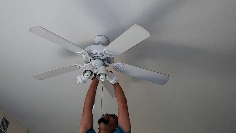 Como equilibrar un ventilador de techo