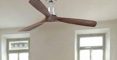 ventilador de techo sin luz